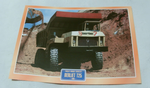 Berliet T25 Construction dumper 1960 Truck framed picture